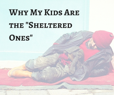 Why My Kids Are the -Sheltered Ones-